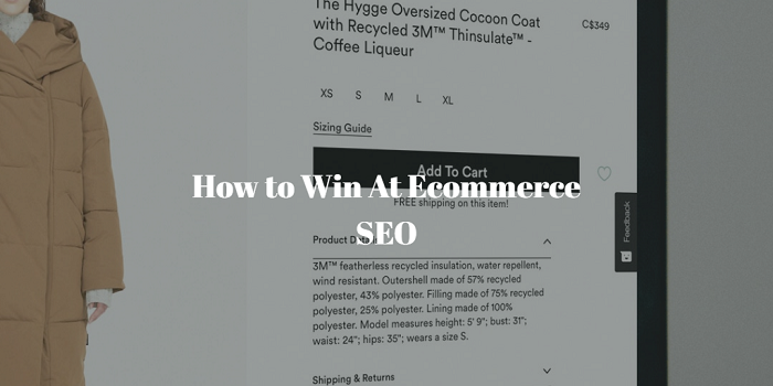 how to use seo to drive traffic to your ecommerce website