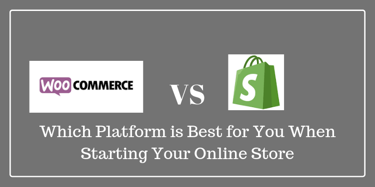 woocommerce vs shopify which platform is best for starting online store